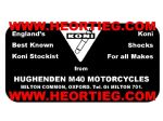 Hughenden M40 Motorcycles Oxford Dealer Decal Transfers DDQ7